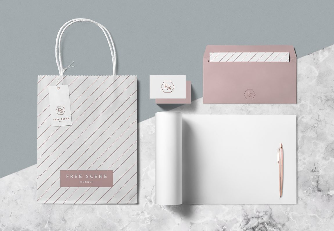 Paper Tea Packaging Vector