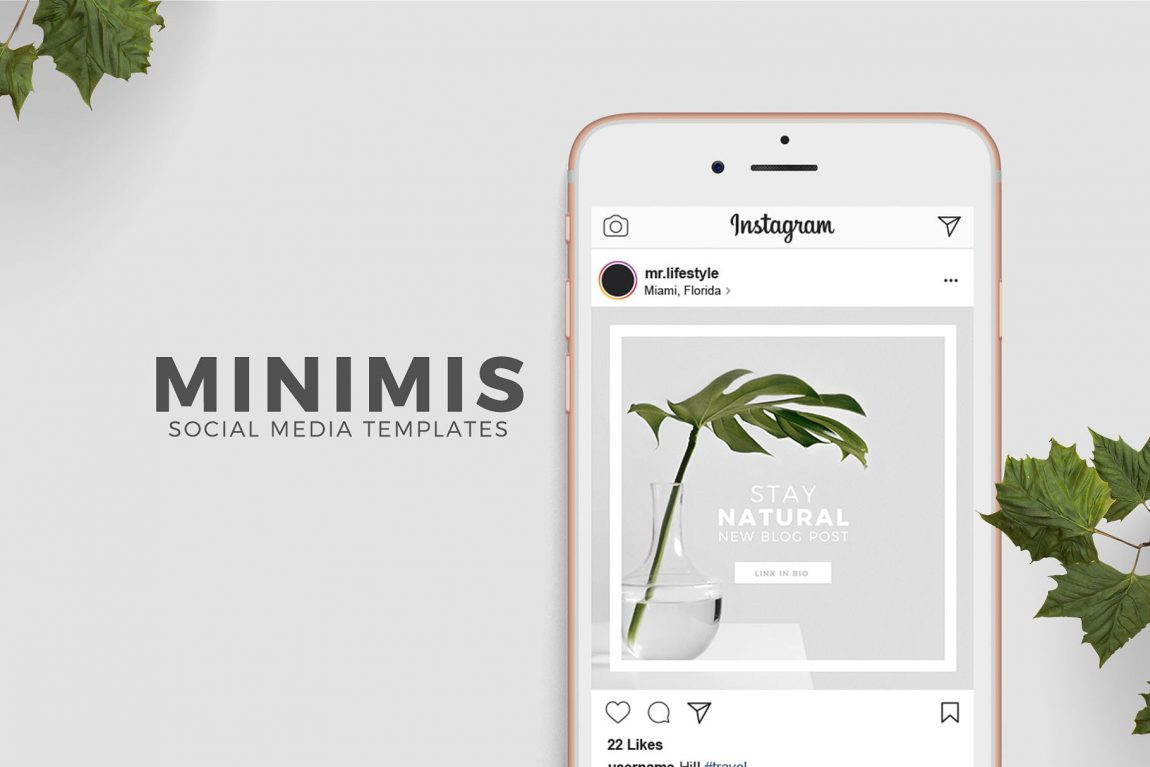 Free Instragram stories PSD