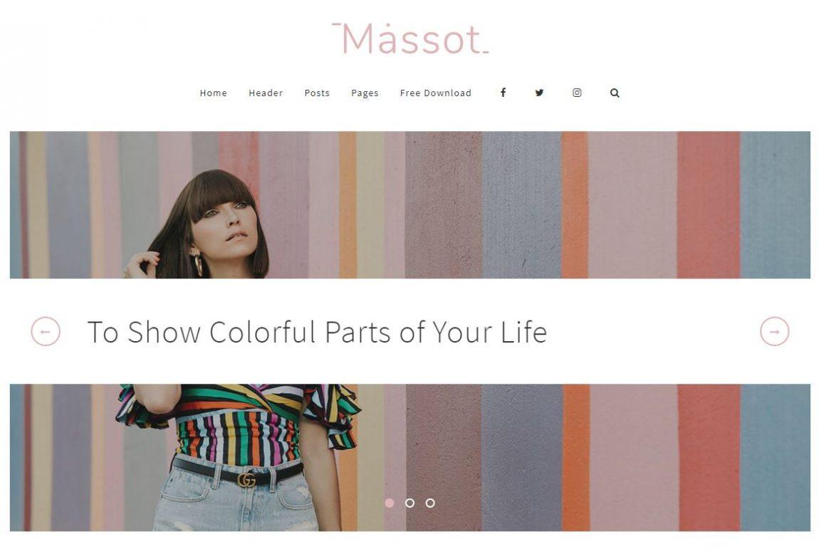 Minimal Wordpress Blog Theme