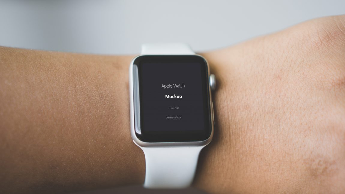 Free Apple iWatch Mockup