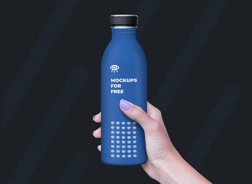 Plastic Bottle in Hand
