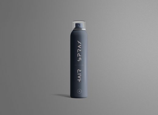 Hair Spray Mockup