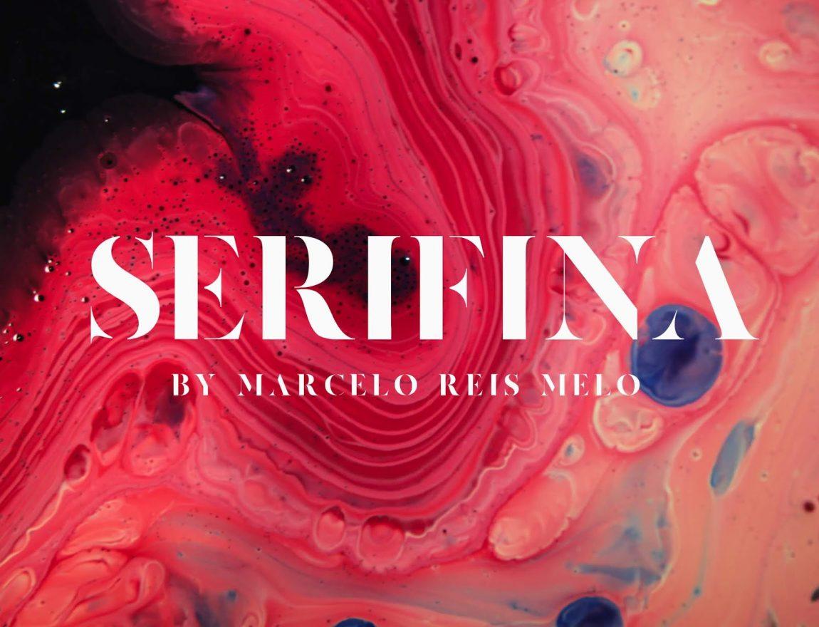 serifina free font