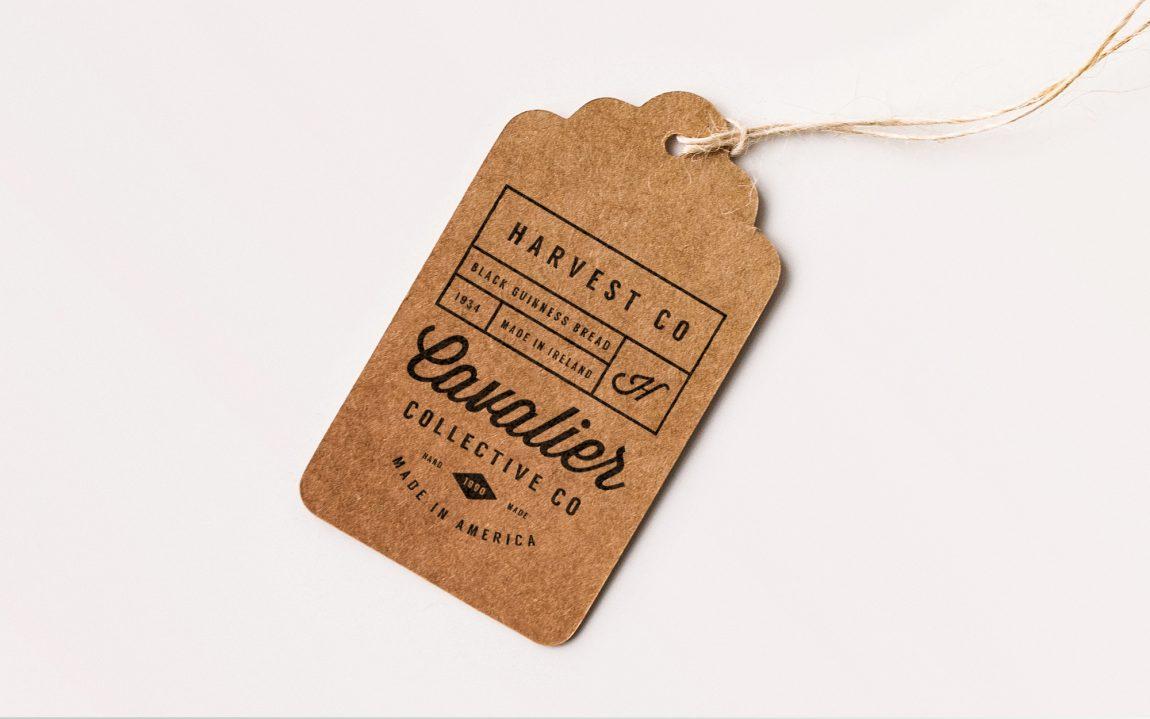 free apparel tag mocku
