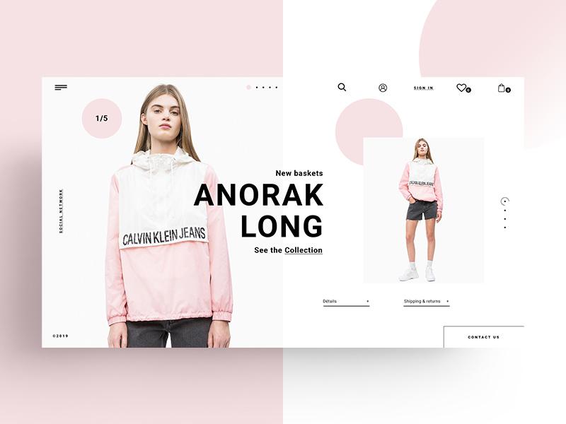 Free Fashion Website Template Psd Creative Sofa