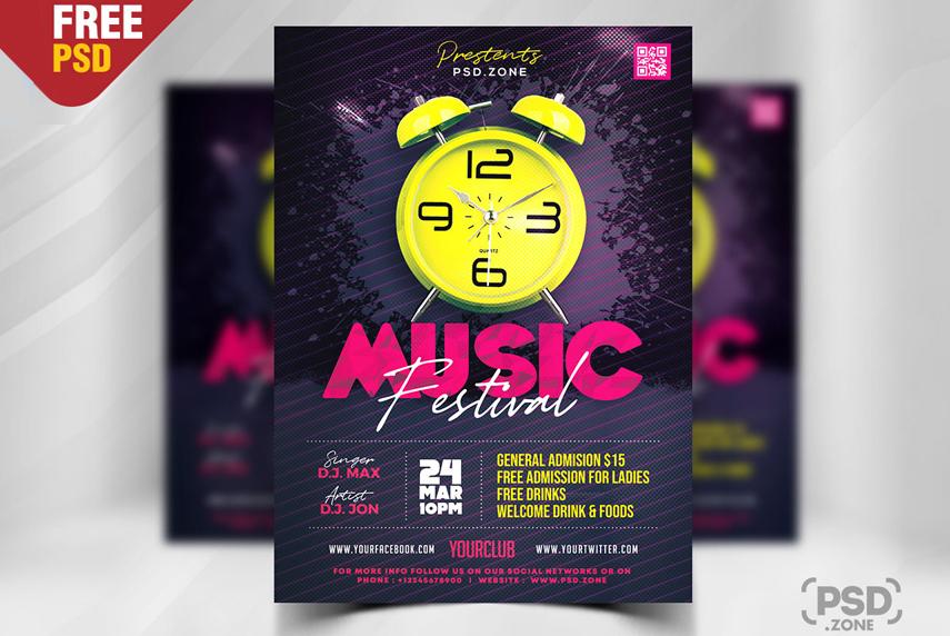 Modern-Music-Festival-Party-Flyer